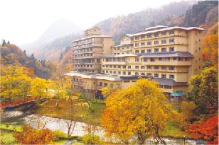 花卷溫泉飯店外觀