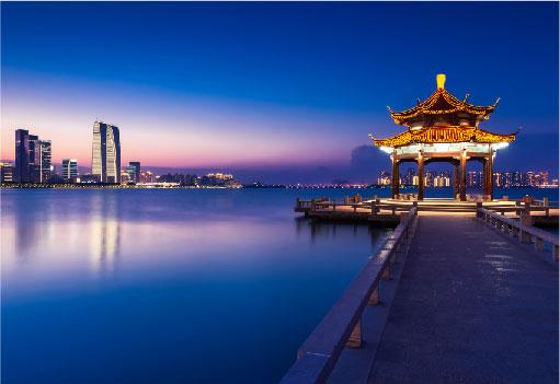 金雞湖╱璀璨夜景