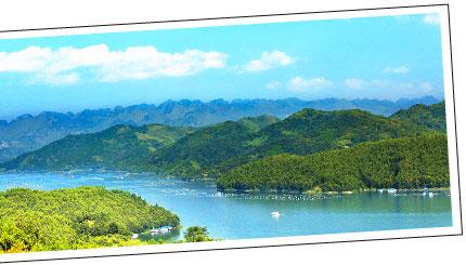 萬峰湖  雲貴高原上最大的高原湖泊區