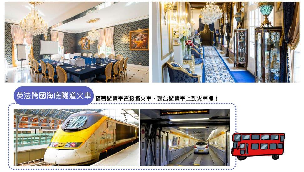 英法跨國海底隧道火車Eurostar