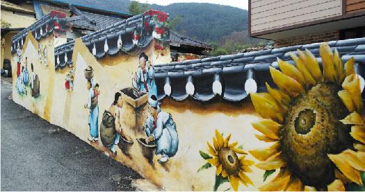 馬飛亭壁畫村:韓式日常風格就讓人拍個不停