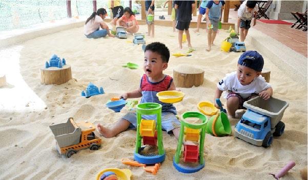 高雄義大童趣樂花園戶外遊戲區