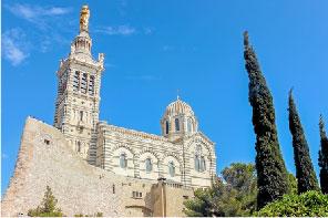 聖母守望大教堂-馬賽城的最高點